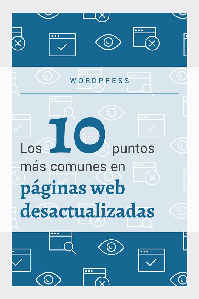 10 puntos más comunes paginas web desactualizadas archive