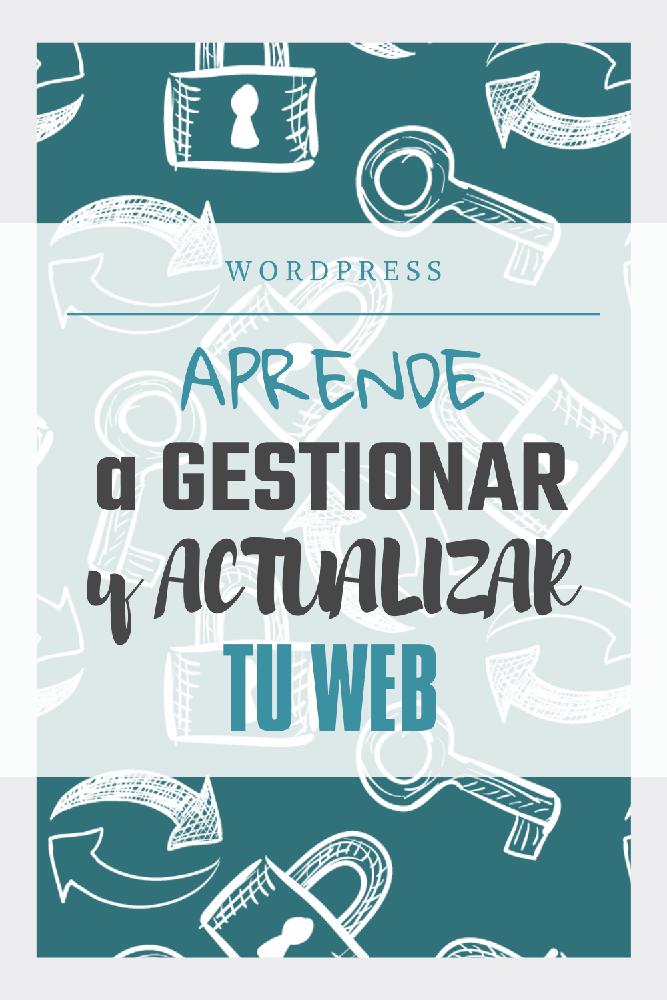 como acceder y gestionar pagina web wordpress web-sastre