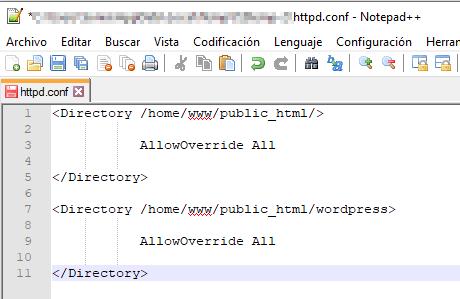 error 404 despues migrar restaurar pagina web wordpress ftp servidor archivo codigo