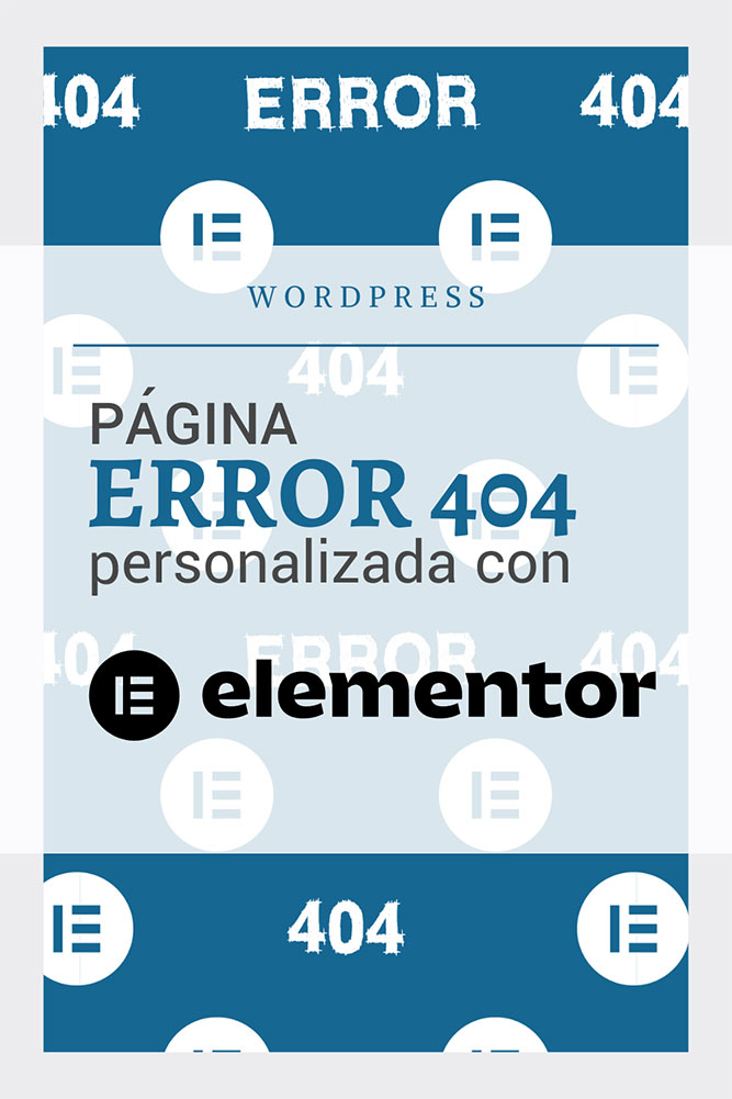pagina error 404 personalizada elementor-pro blog wordpress arcivhe