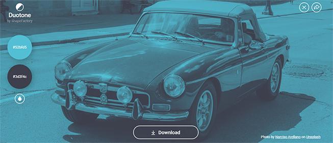 recopilacion herramientas muy utiles crear pagina web wordpress ejemplo imagen duotone