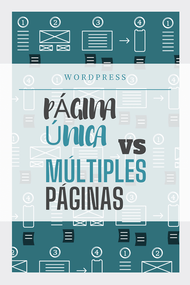 una pagina web scroll vs multiple paginas archive